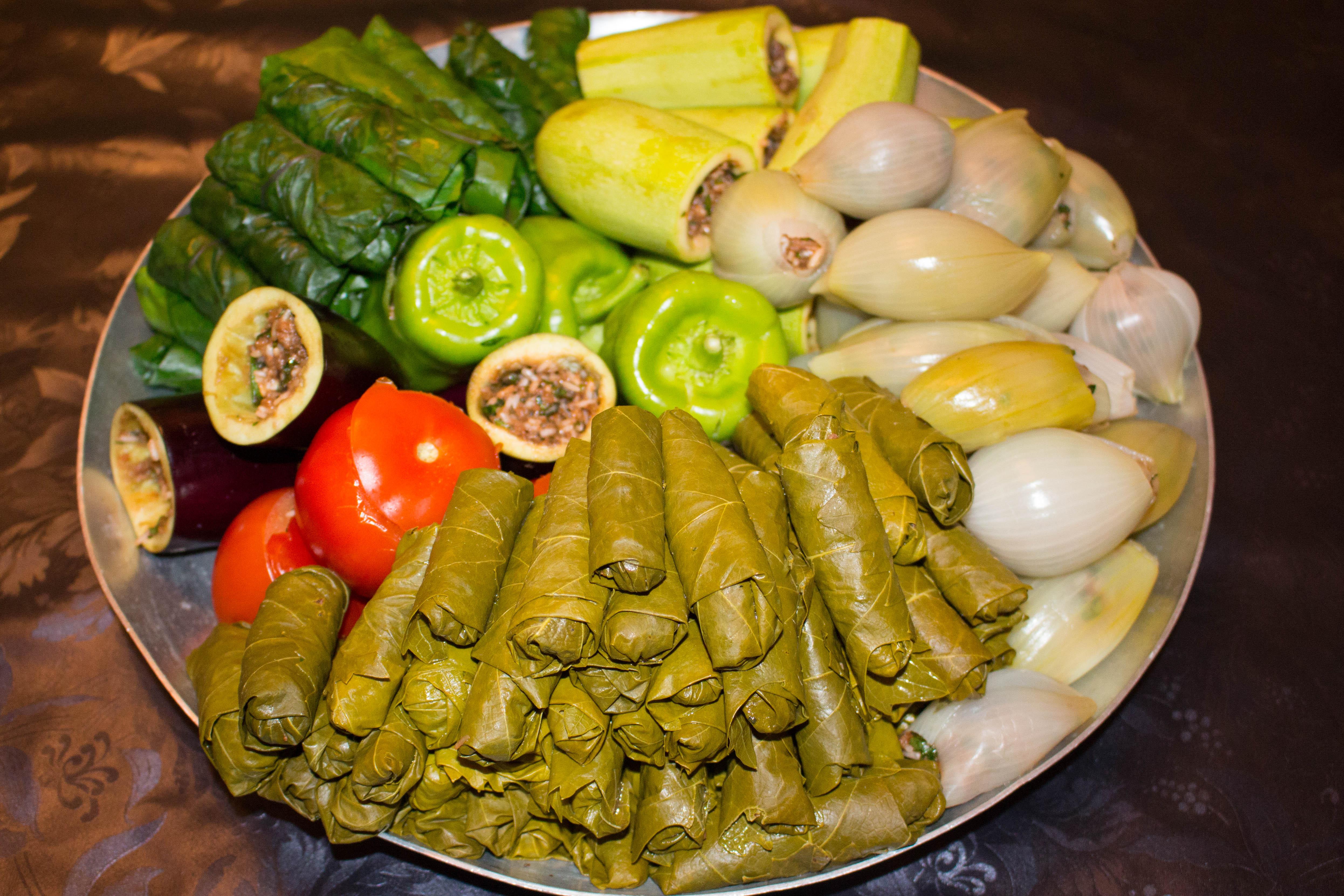 iransk vegetarisk mat