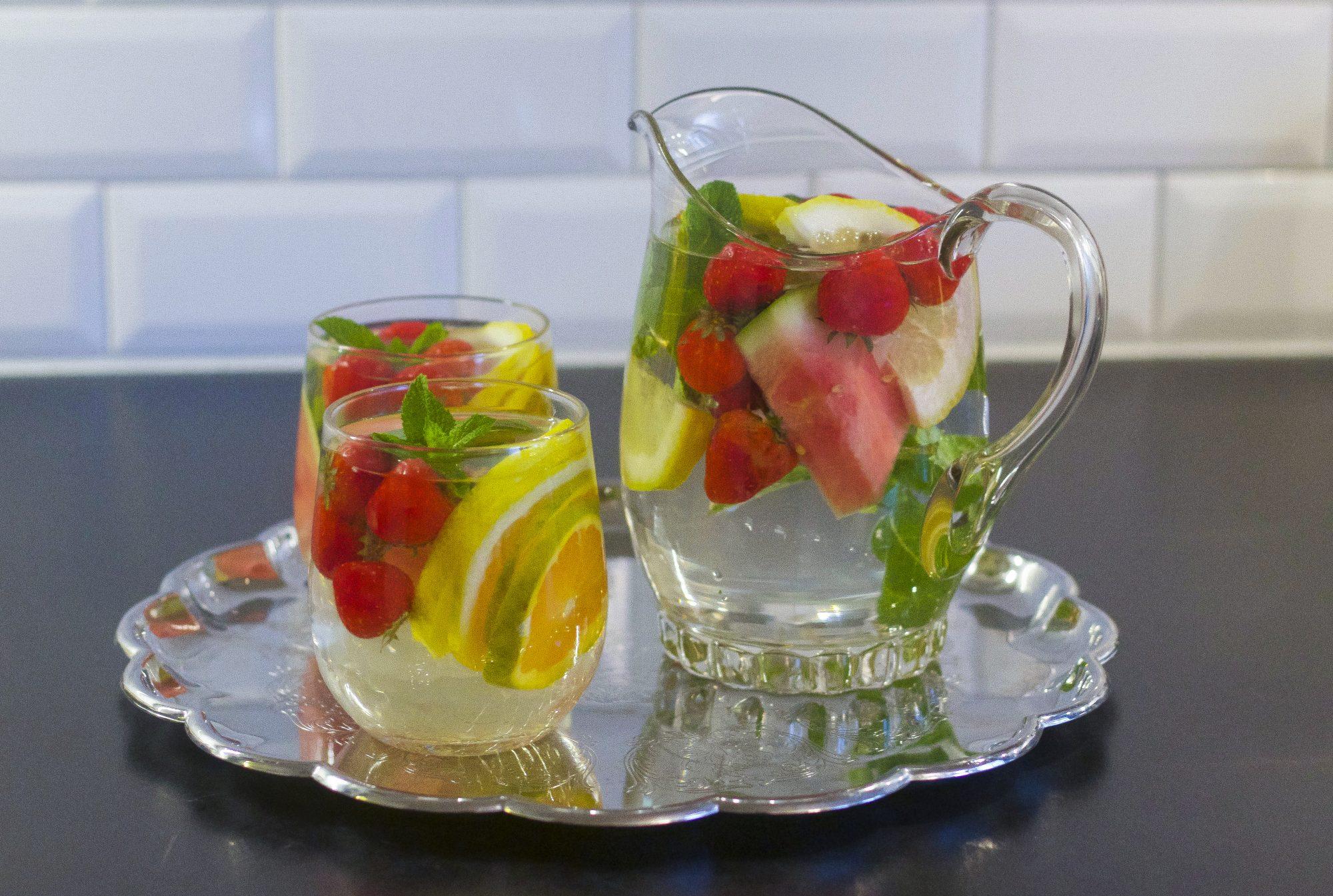 vatten smakar sött
