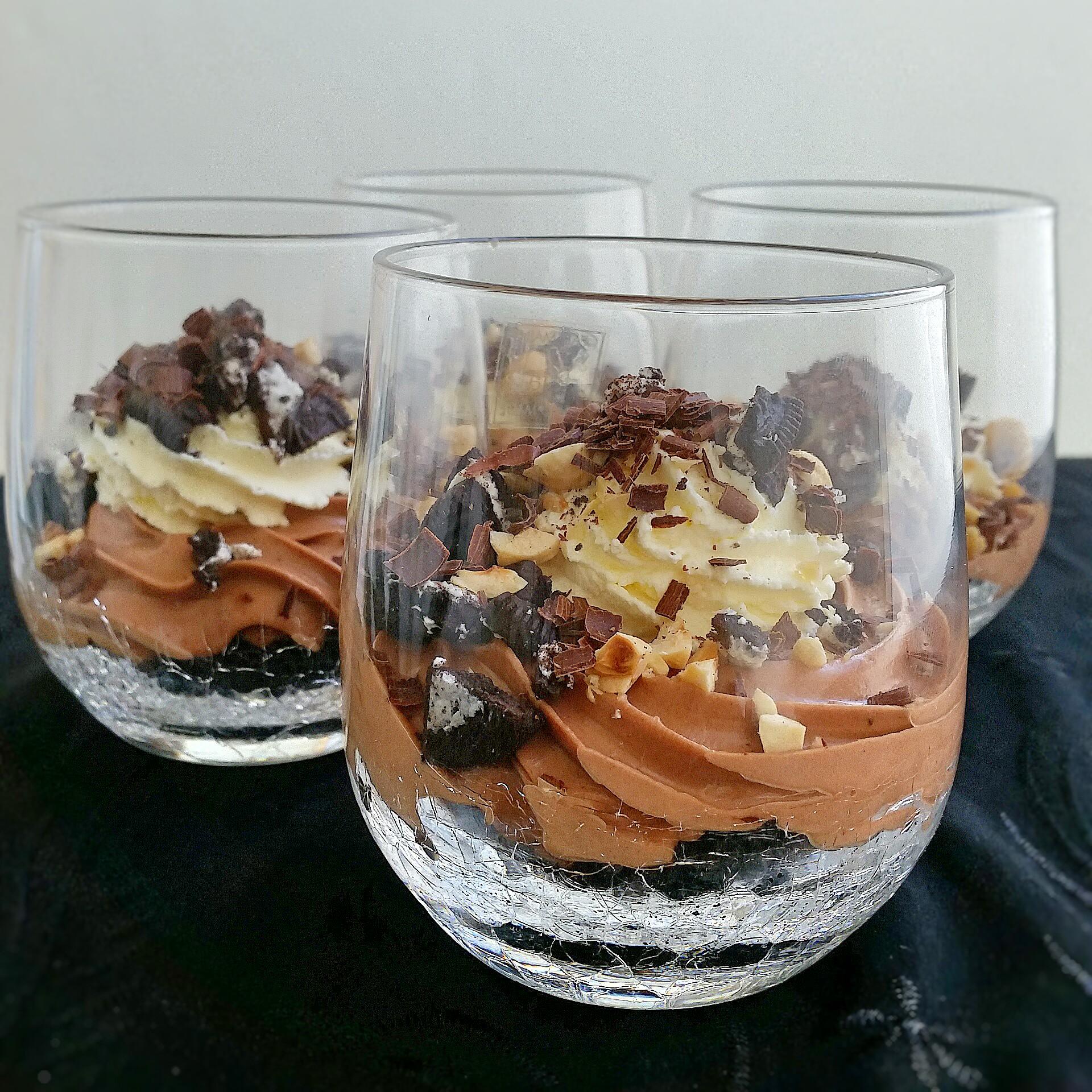 nutella cheesecake i glas zeinas kitchen. Black Bedroom Furniture Sets. Home Design Ideas