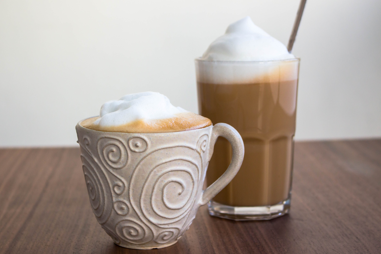 caffe latte recept