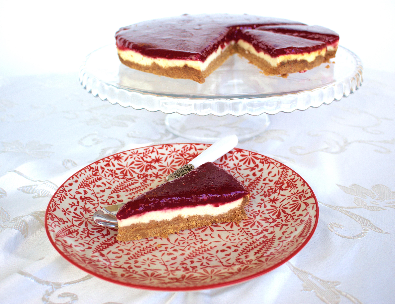 cheesecake utan ägg recept