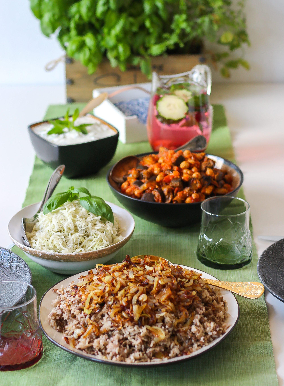 libanesisk vegetarisk mat