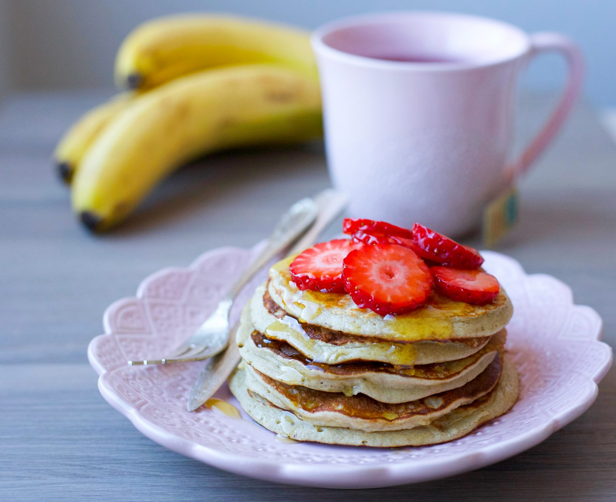 nyttiga pannkakor utan banan