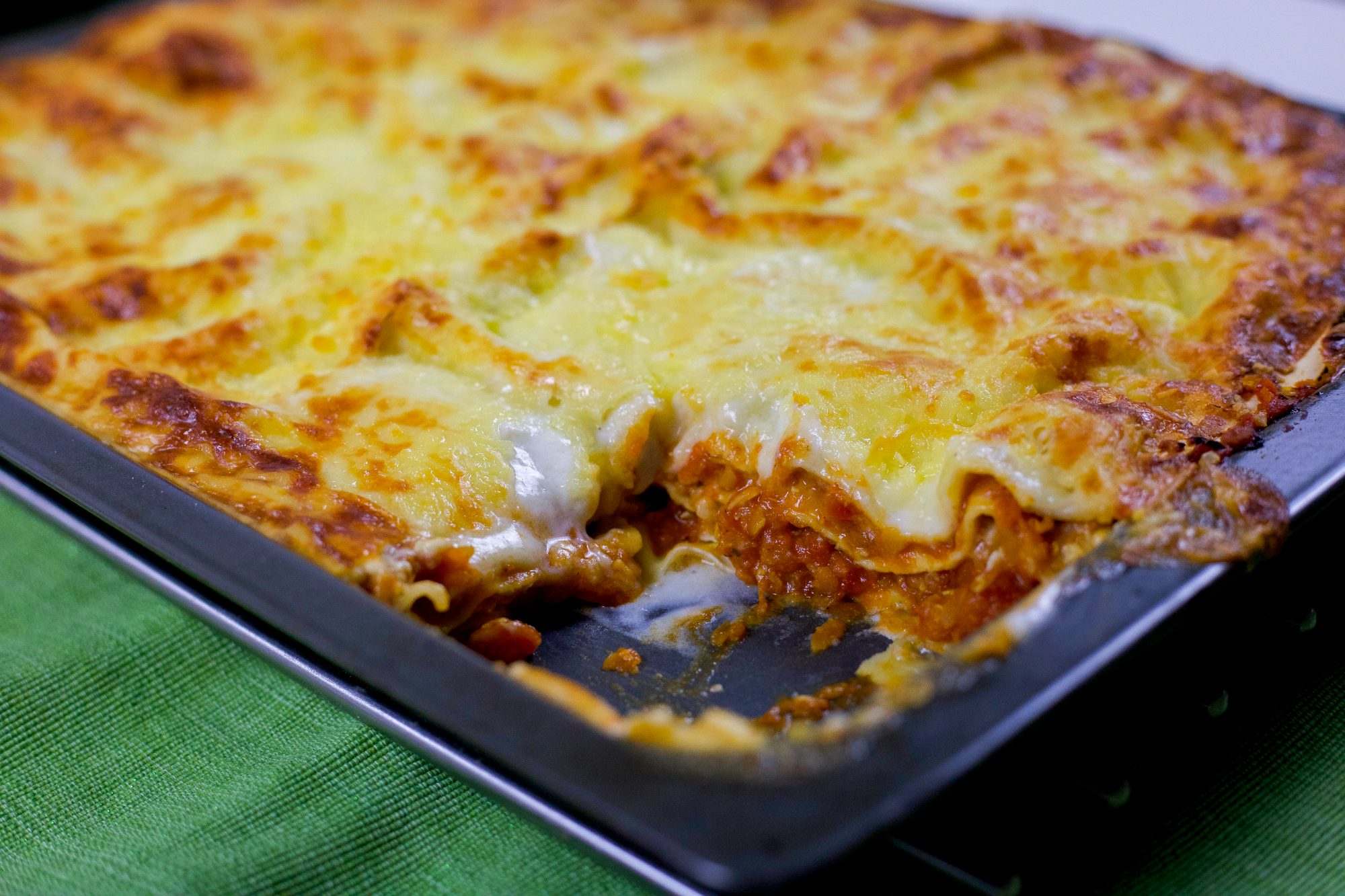 vegetarisk lasagne färs